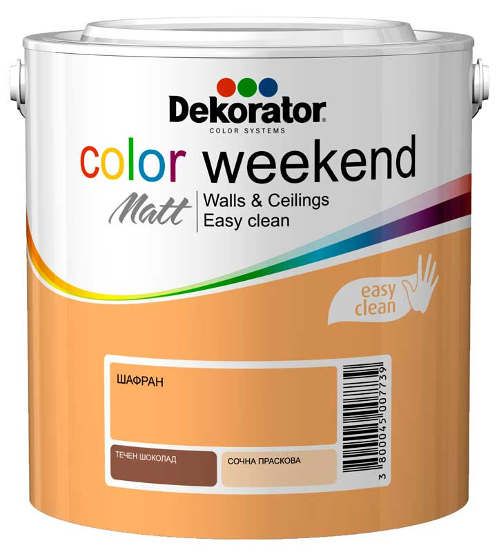 DEKORATOR ЛАТЕКС Color Weekend Matt
